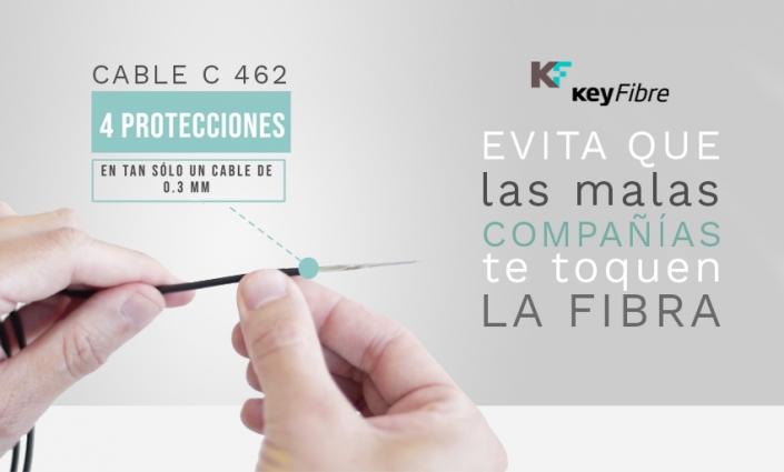 ACOMETIDA PRECONECTORIZADA CABLE C 462 KEYFIBRE